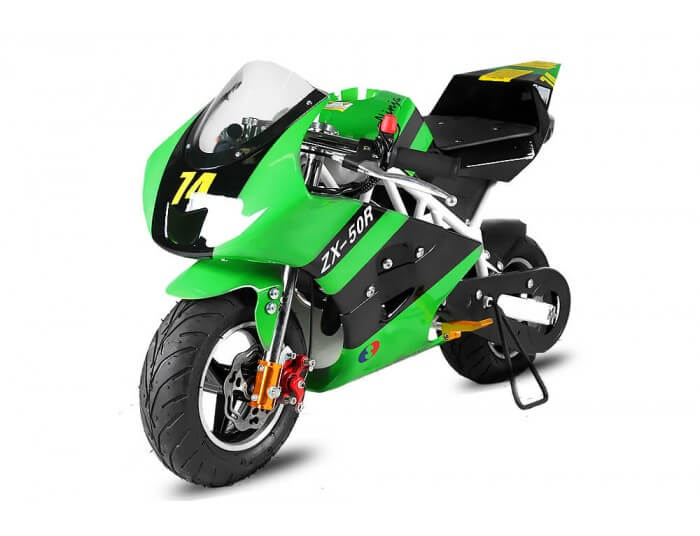 PS50 Rocket Sport 50cc Pocket Bike Mini Moto