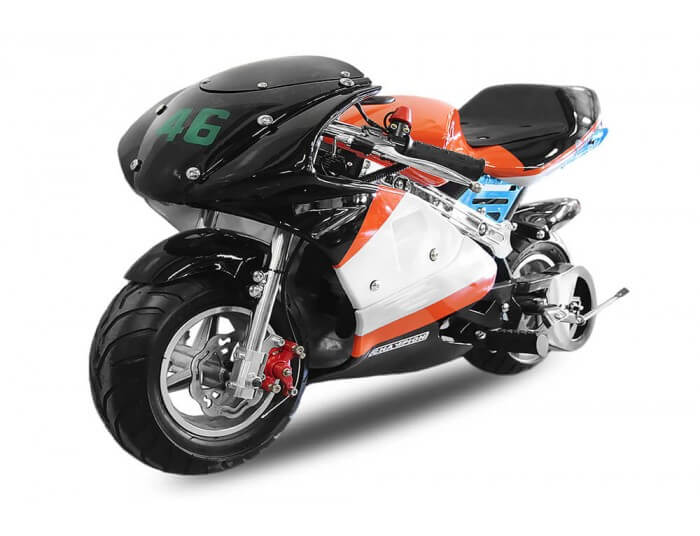 PS88 50cc Pocket Bike Mini Moto Racing Bike