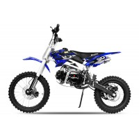 "Sky Deluxe 125cc Pit Bike - 4 Stroke Engine - Manual Gearbox - Kick Start - 17""/14"" Wheels - New Design"