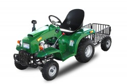 110cc Childrens Tractor - 4 Stroke Engine - Semi-Automatic - Lights + Indicators - Hydraulic Brakes