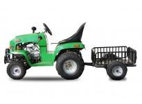 110cc Childrens Tractor - 4 Stroke Engine - Semi-Automatic - Lights + Indicators - Hydraulic Brakes