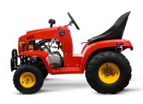 110cc Kids Mini Tractor with Trailer Mini John Deere 1+1