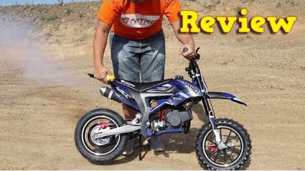 Video Review about Gepard Deluxe Tuning 50cc Mini Dirt Bike Kids Motorbike