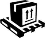 pallet shipping  icon