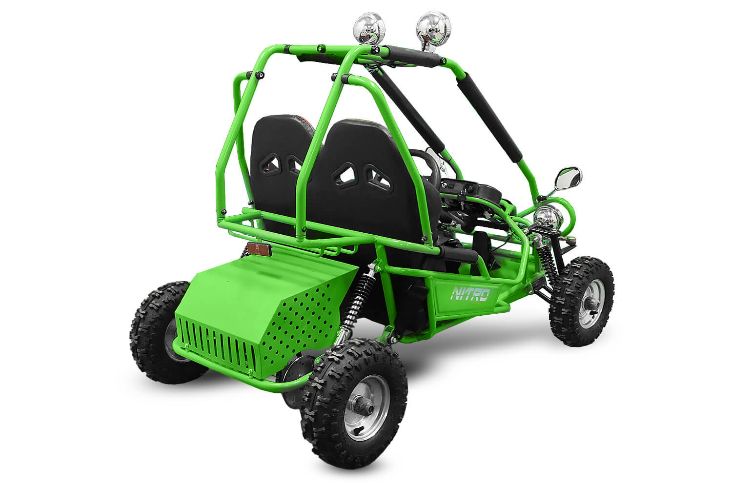 Buggy 450W 36V - Electric Buggy - 3x12V 12Ah Batteries from